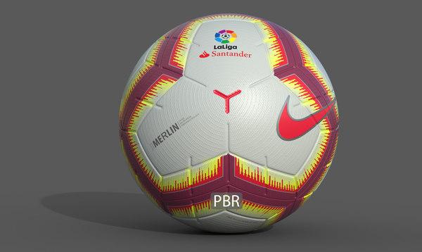 la liga 2018-2019 ball model