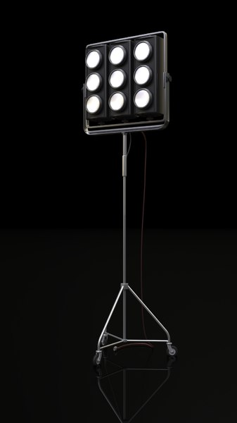 3D cosmolight jambo stage lighting model