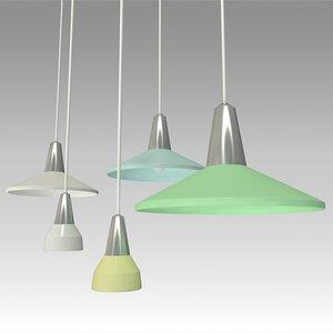 3D pendant lamps model