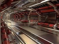 Sci Fi Modular Corridor Standard Edition
