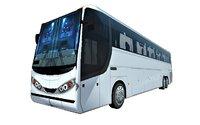 3D coach bus model