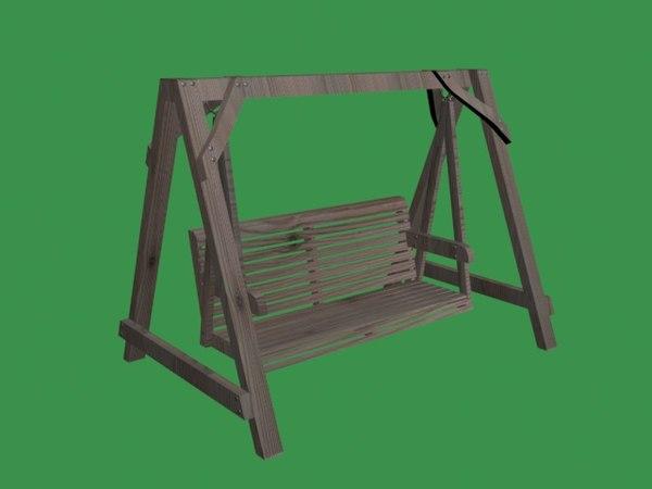 wood swing model