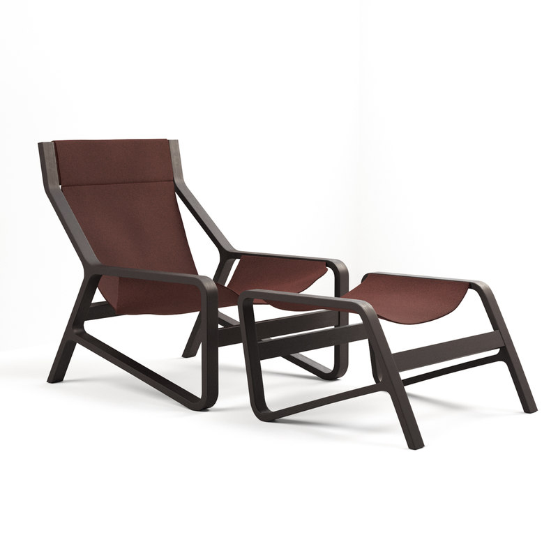 3D dot toro lounge chair