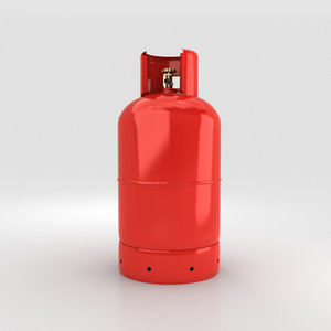 gas cylinder model
