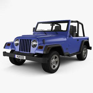 jeep wrangler tj model