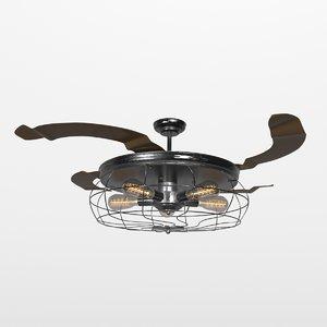 3D loft fan