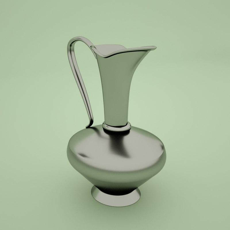 3D arabic decanter