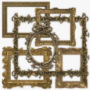 3D set picture frames