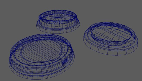 coffee cup lid 3D model