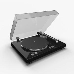 minimalist pick-up disk 3D model