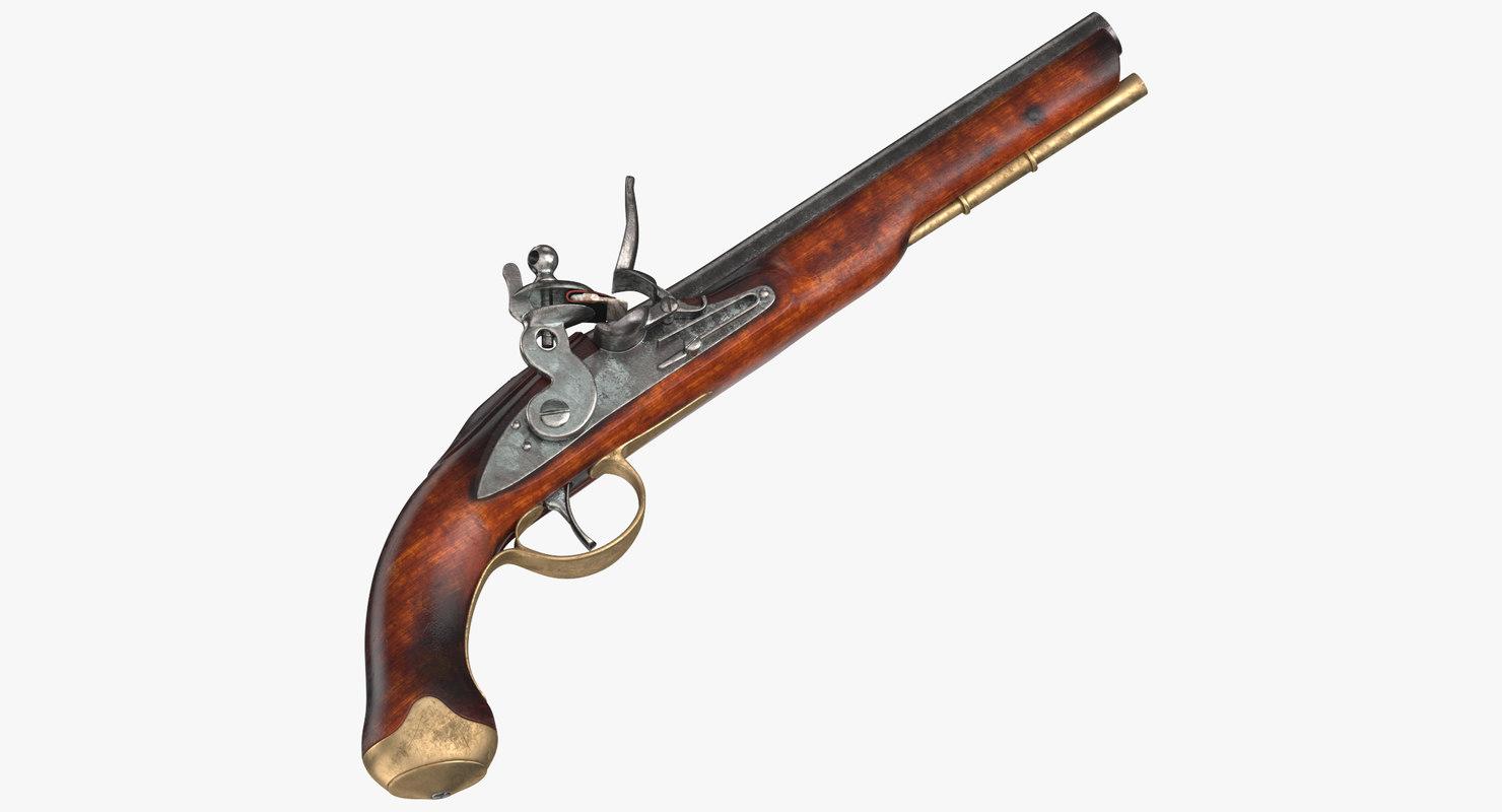 revolutionary war gun model
