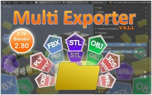 MultiExporter 0.1.1
