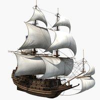 sailboat sail model