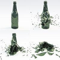 Bottle Crash Animation