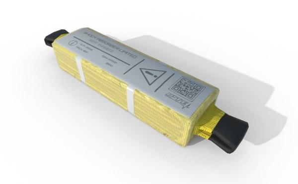 3D model security absorber