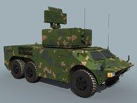3D model hq-7b hq-7