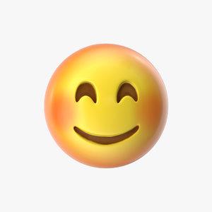 emoji 10 smiling face model