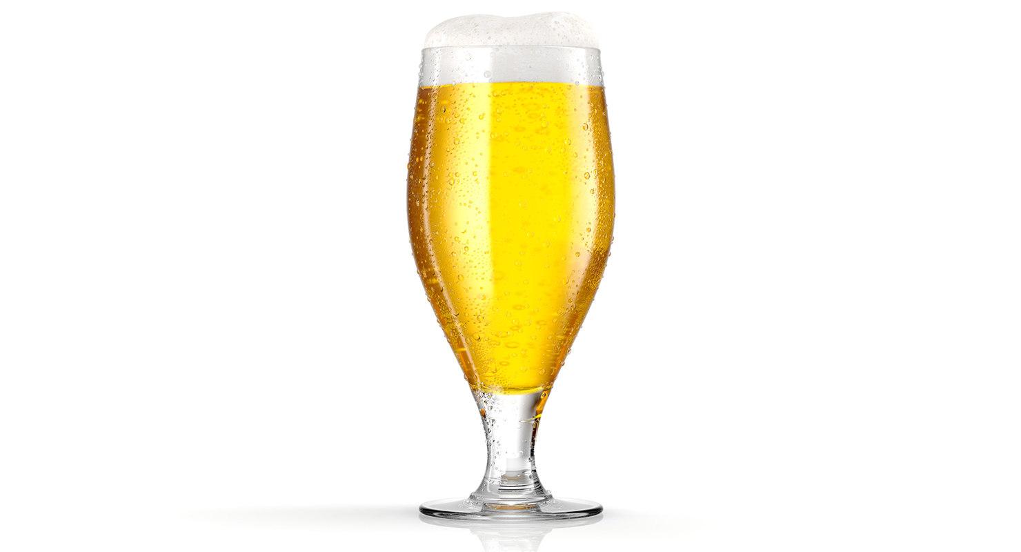 beer glass model