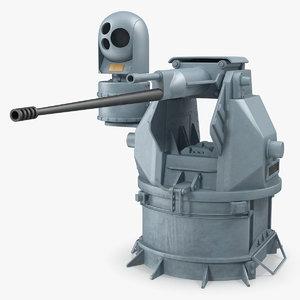3D model m242 bushmaster chain gun