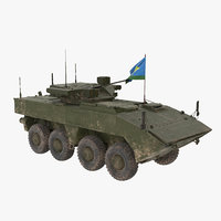 3D model vpk-7829 bumerang green dirt