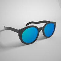 Sunglasses 3D model Cutler & Gross