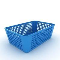plastic baskets 3D model