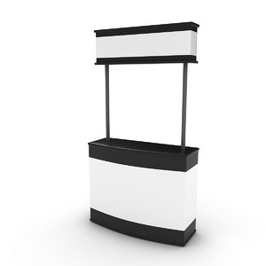 3D trade stand