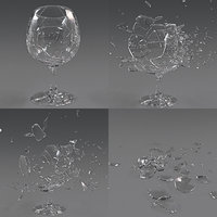Wineglass Crash Animation