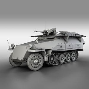 251 7 ausf d 3D model