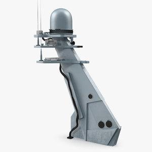 antenna mast 3D model
