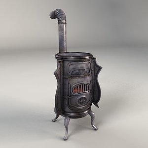 antique stove model