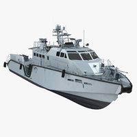 mark vi patrol boat 3D model
