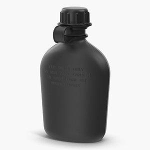 plastic water canteen model