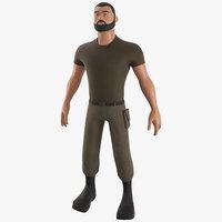 Cartoon Soldier - PBR Character