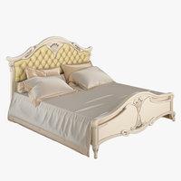 carpenter bed cnc 3D model