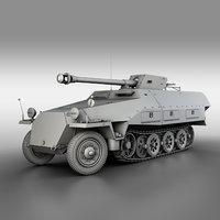 3D sd kfz 251 22