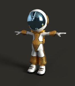 astronaut character games model