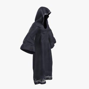 grim reaper cloak 3D model