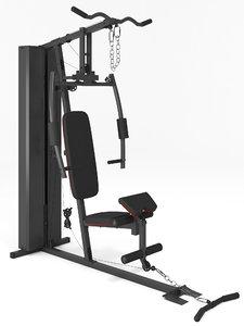 multi gym equipment 3D