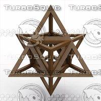 3D octaedron epirmenon cenon