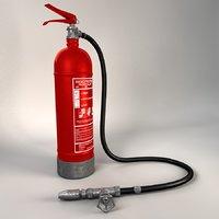 3D extinguisher