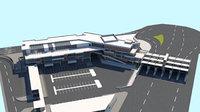 customs entrance environment model