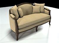 3D dalia sofa model