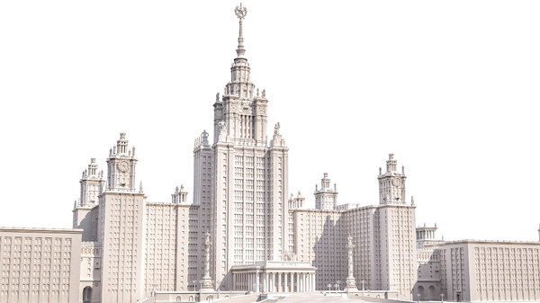 3D historical moscow stalinist