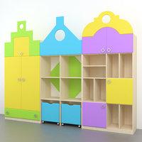 childrens furniture 3D