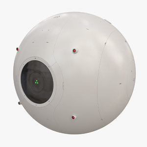 drone dron 3D model