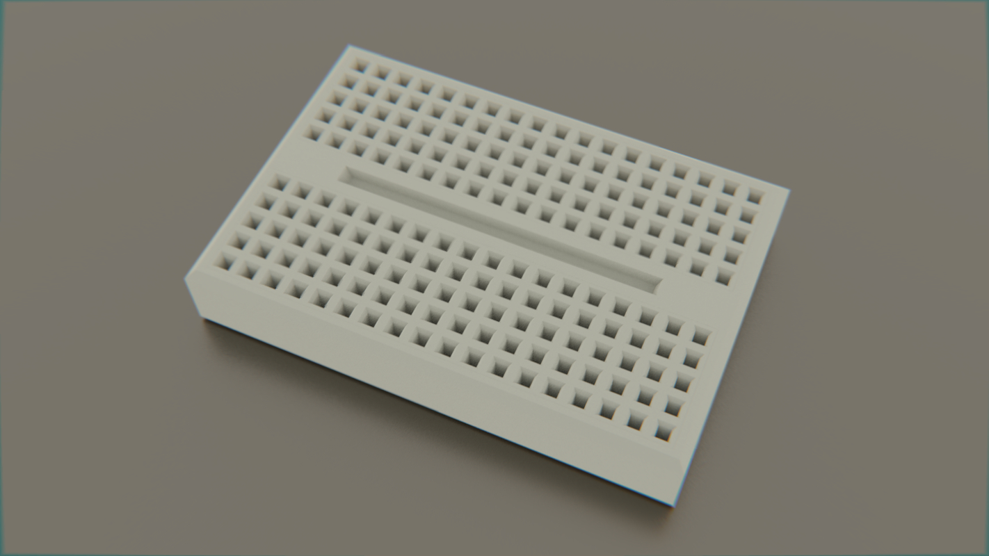 small breadboard arduino 3D