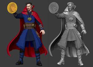 doctor strange infinity war 3D model