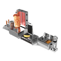 doner cafe equipment 3D model
