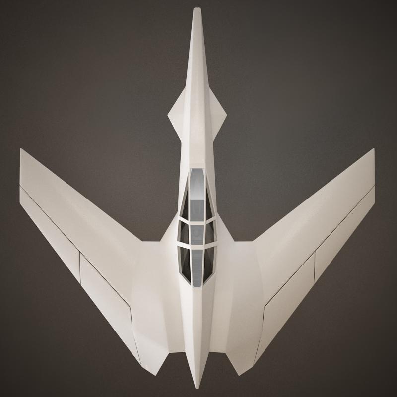 HD Spaceship